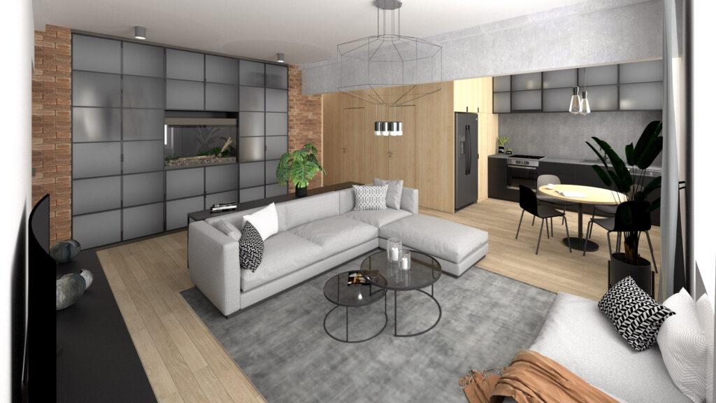 LUZ - štúdia interiéru bytu