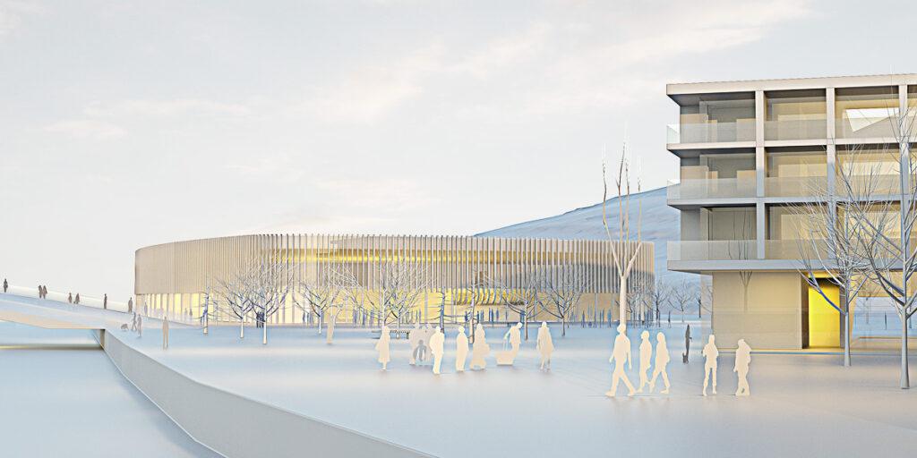 Projekt / verejná stavba, športovisko