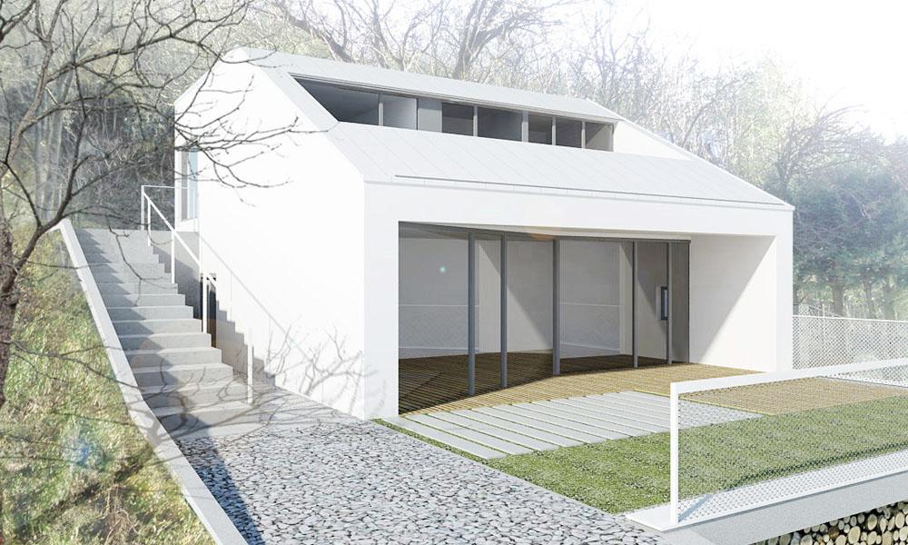 Rekreačný dom - Ateliér BAAR