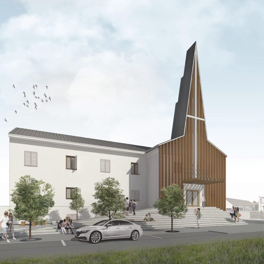 Návrh nového interiéru sakrálneho priestoru v kostole