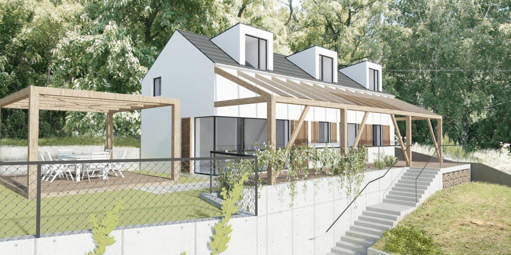 Rekreačná chata - projekt - architektonický Ateliér BAAR