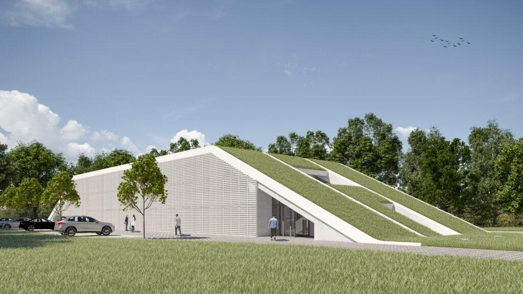 Návrh výrobnej haly, administratívnej budovy